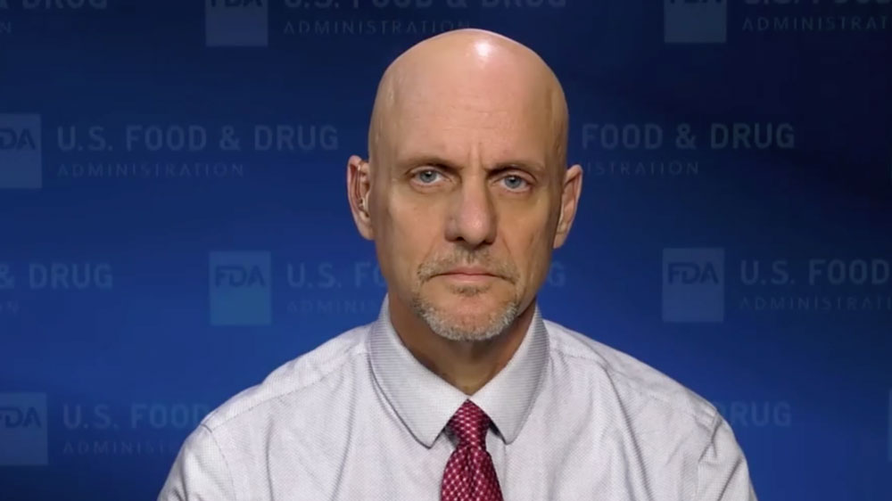 US Food and Drug Administration commissioner Dr. Stephen Hahn.