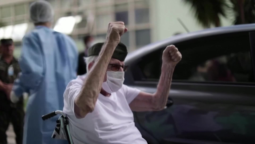 ErmandoPivetawas discharged from the Armed Forces Hospital in Brasilia on Tuesday after receiving treatment for eight days.