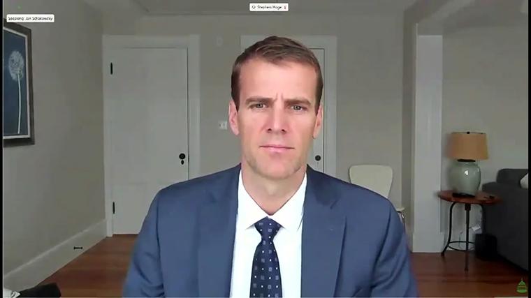 Stephen Hoge, president of Moderna