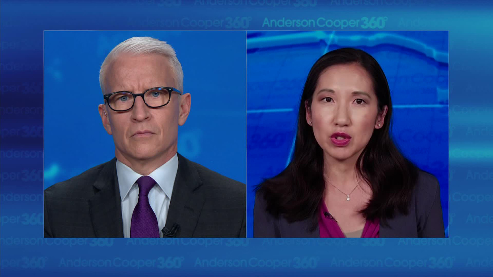 Dr. Leana Wen taks to CNN's Anderson Cooper.