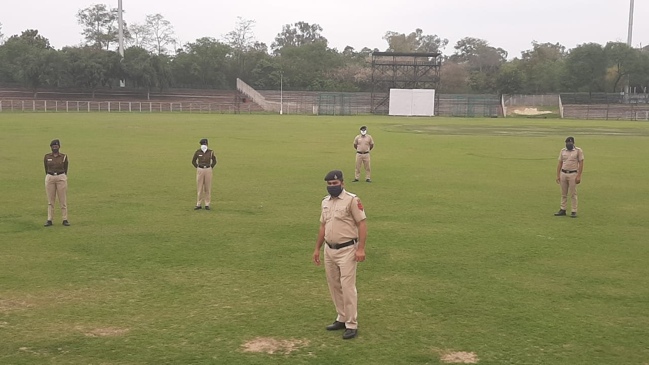 A cricket stadium and a sports complex in Chandigarh, India have been converted into temporary jails for those who violate lockdown conditions.