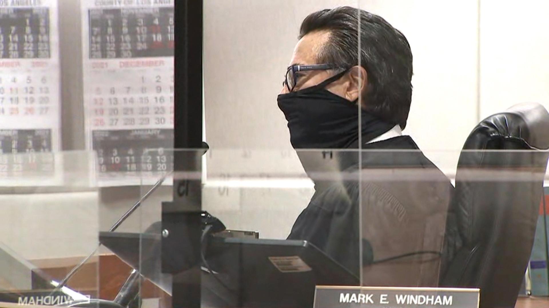 Judge Mark Windham speaks during Robert Durst's sentencing on Thursday, October 14.