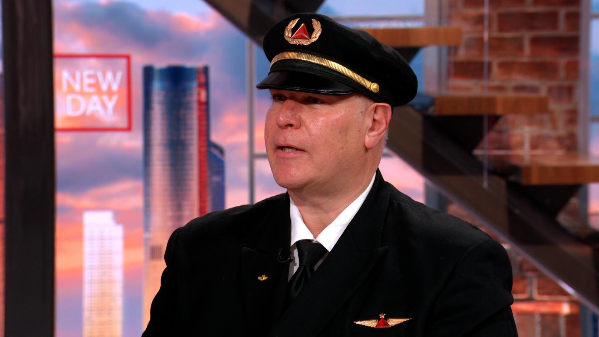 Delta Airlines pilot Alexander Kahn.