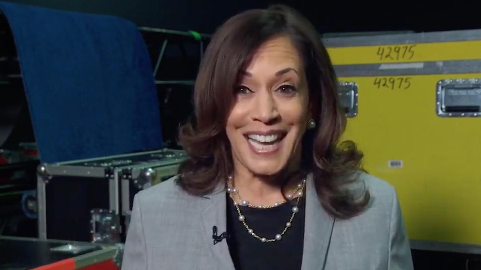 Sen. Kamala Harris kicks off the third day of the Democratic National Convention.