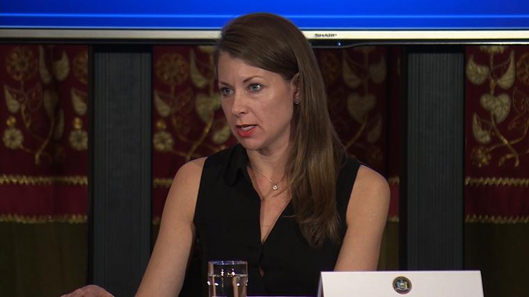Melissa DeRosa, secretary to Gov. Andrew Cuomo
