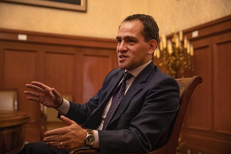 Mexico's Finance Minister Arturo Herrera
