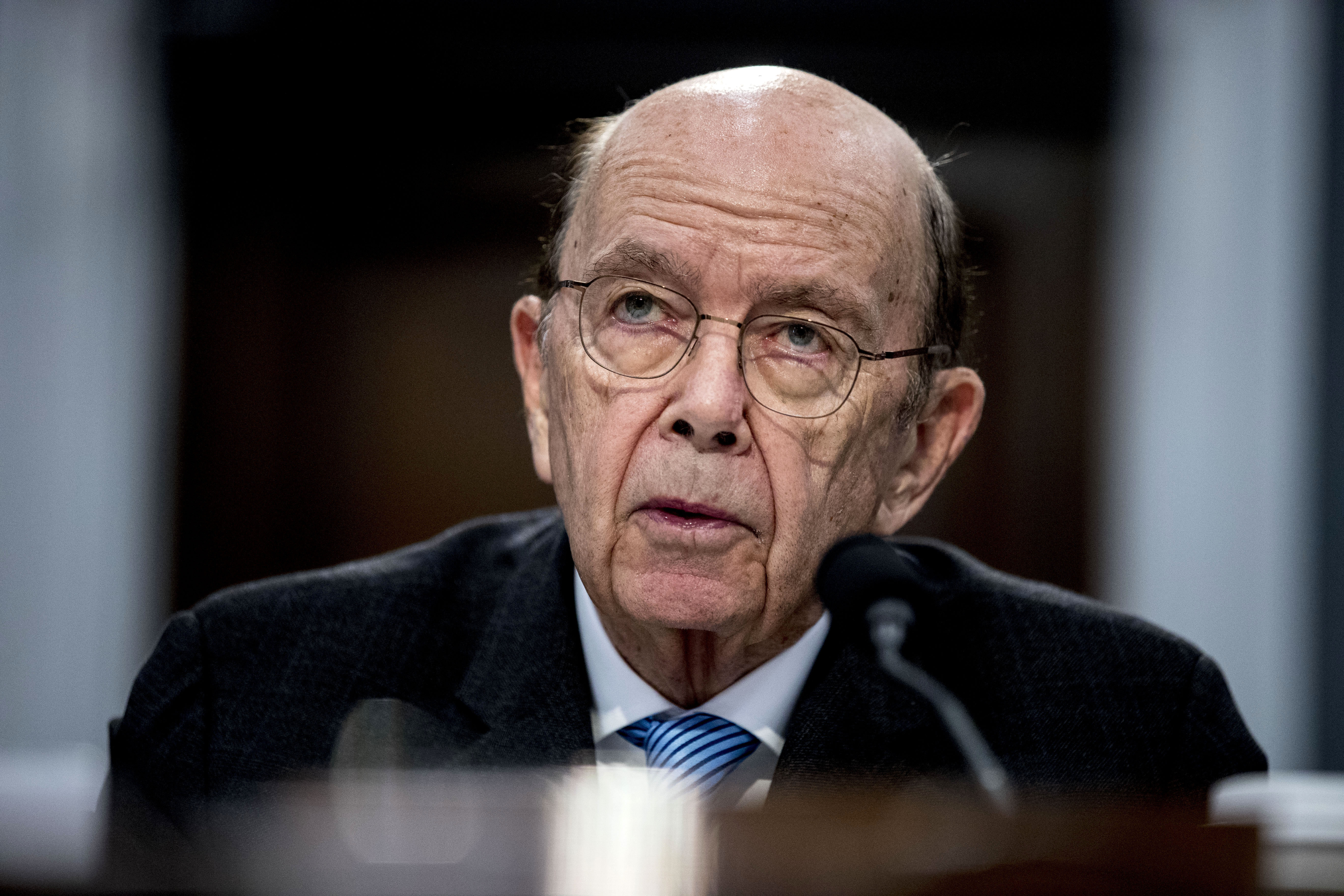 Wilbur Ross, United States commerce secretary, testifies in Washington, DC, on March 10.