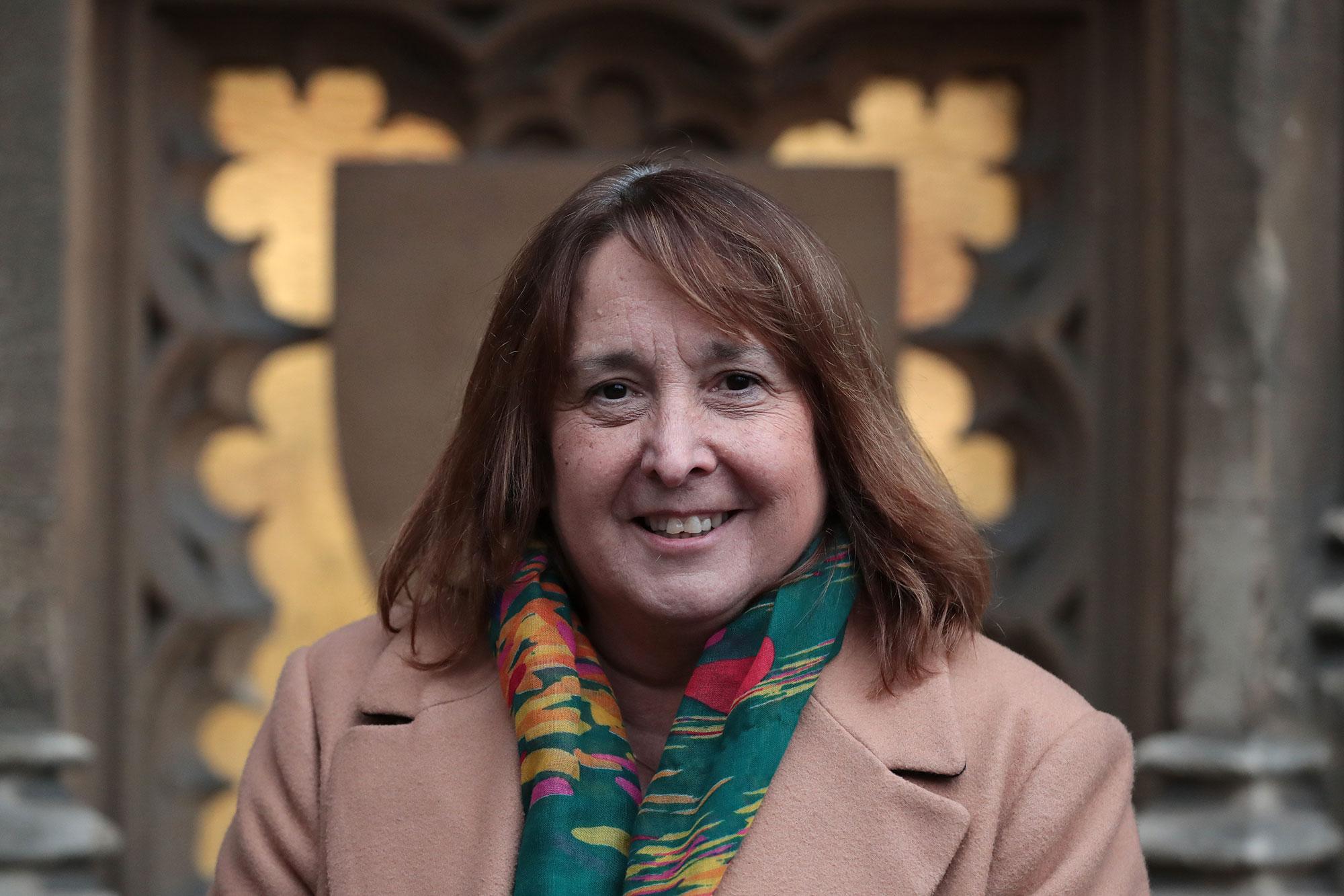 Christine Jardine in London in 2019.