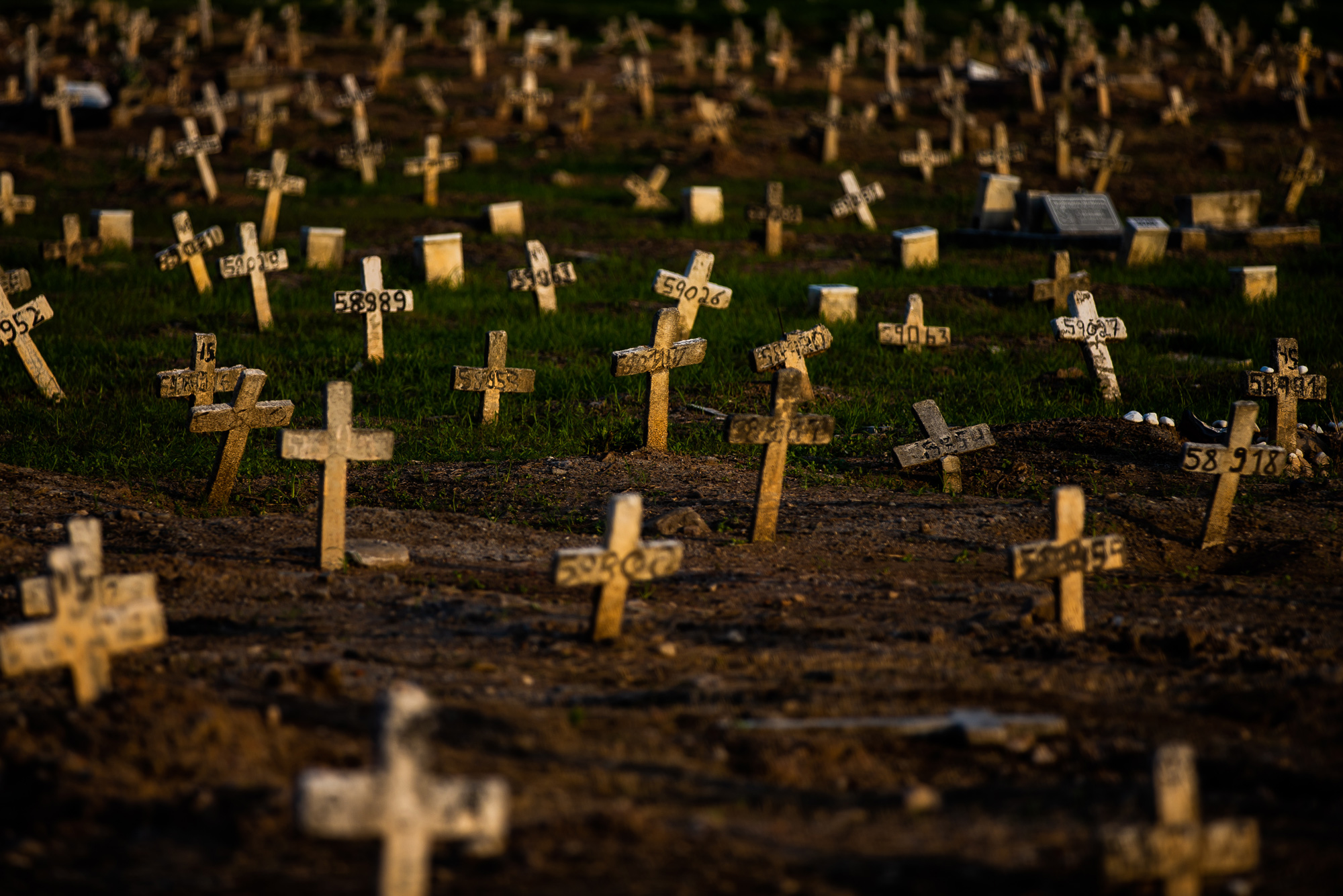 A general view of Caju cemetery is seen on March 24 in Rio de Janeiro, Brazil.