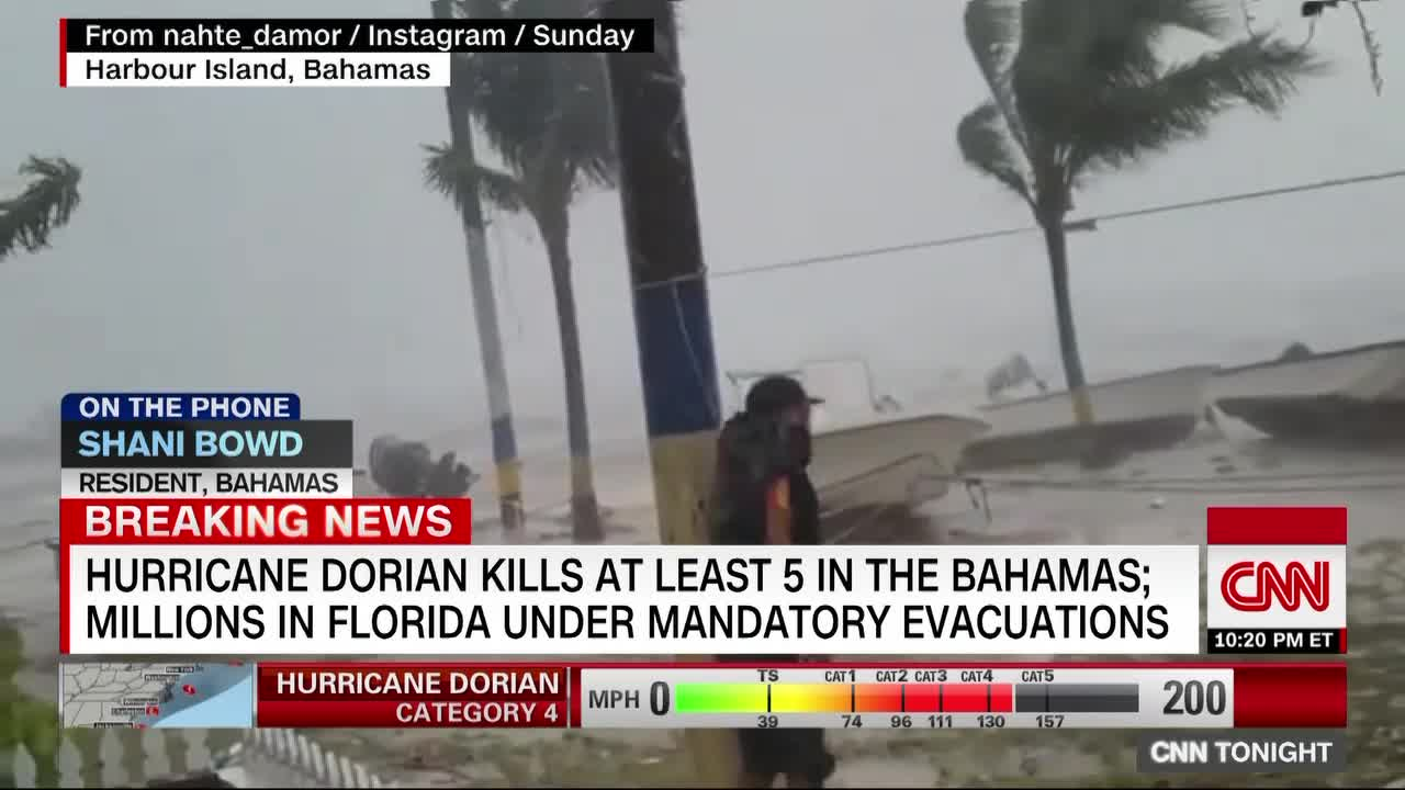There Are Injuries And People Unaccounted For In The Bahamas