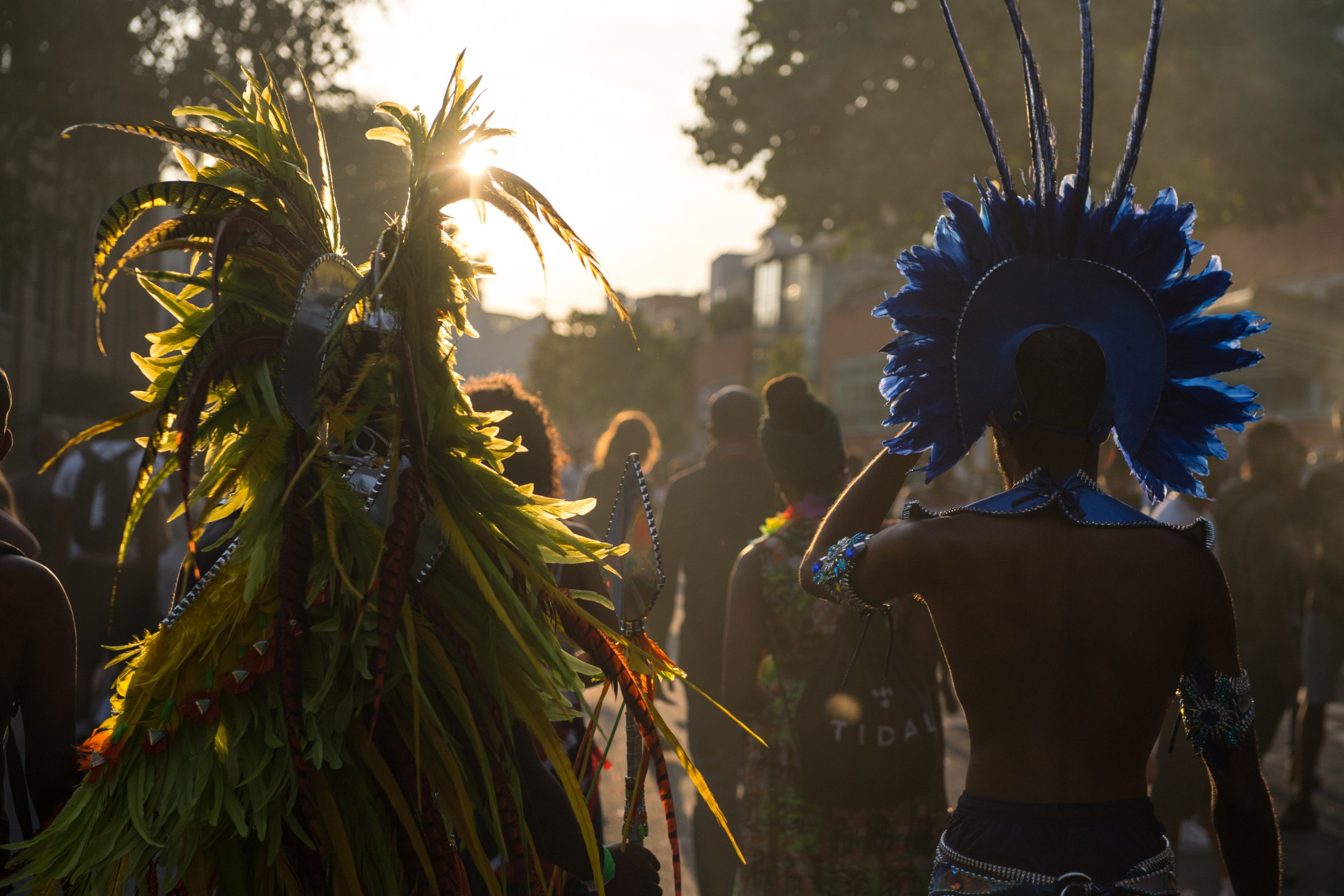 The Notting Hill Carnival sees about 1 million people descend on the streets of west London.