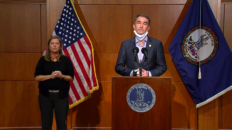 Virginia Governor Ralph Northam warned the Pfizer vaccine was 'not a magic bullet.'