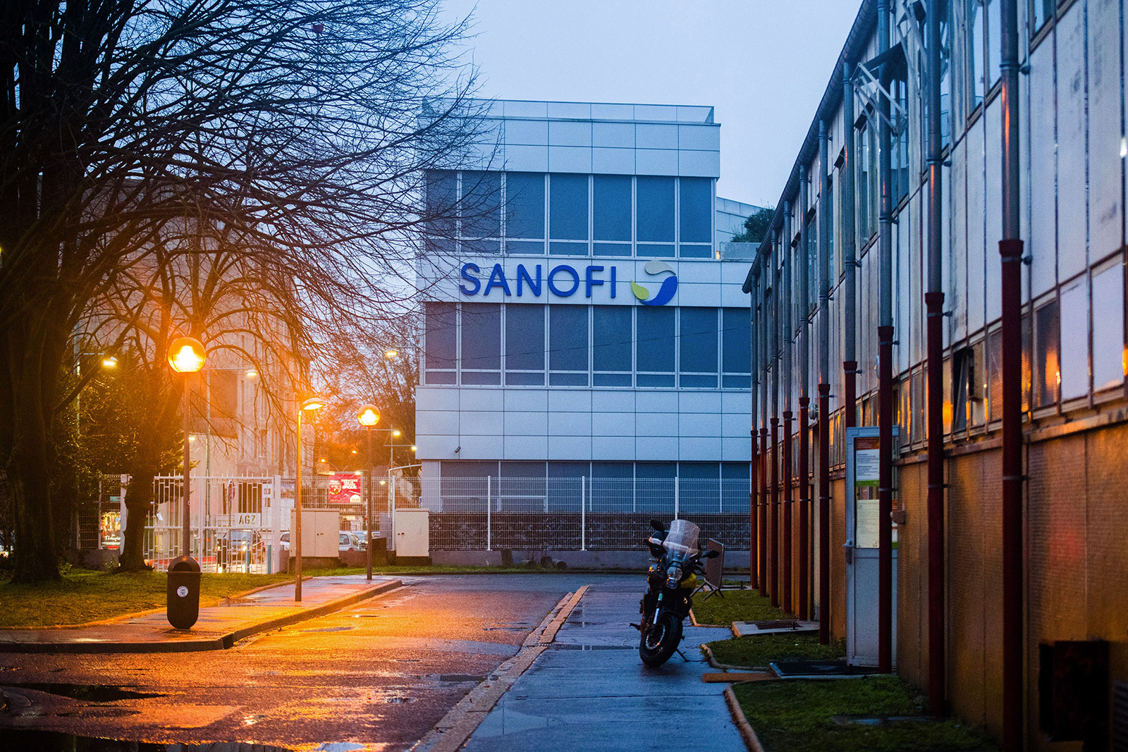 The Sanofi campus in Paris, France.