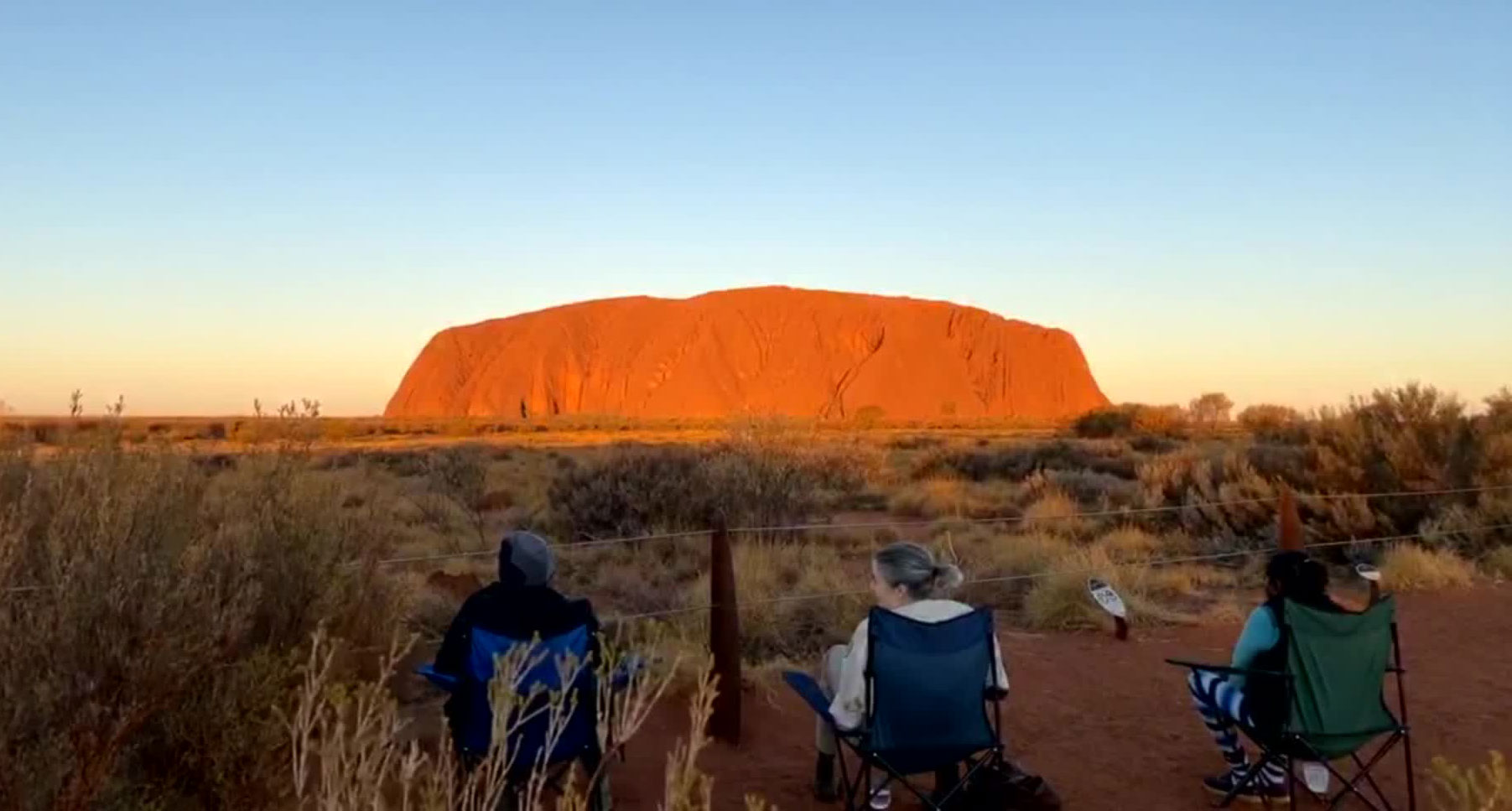 Uluru is one of Australia's most famous tourist attractions.