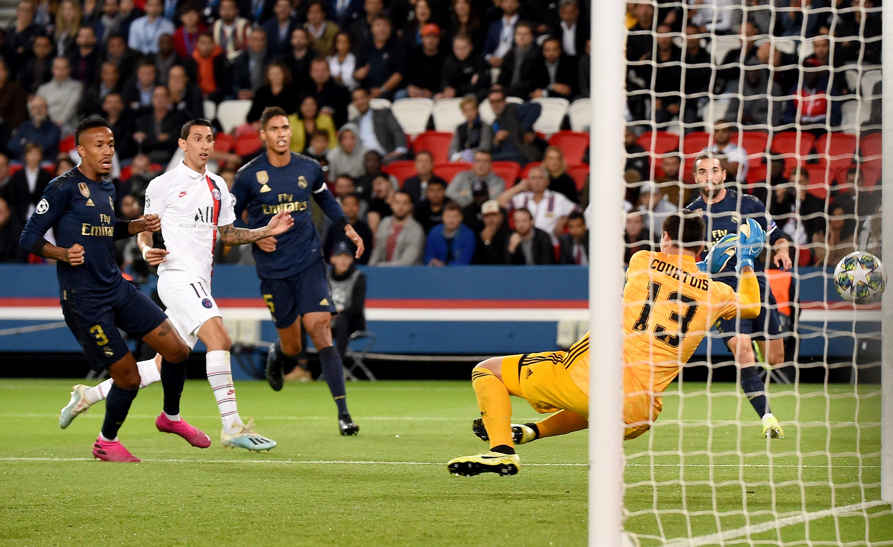 Goal Di Maria At The Double