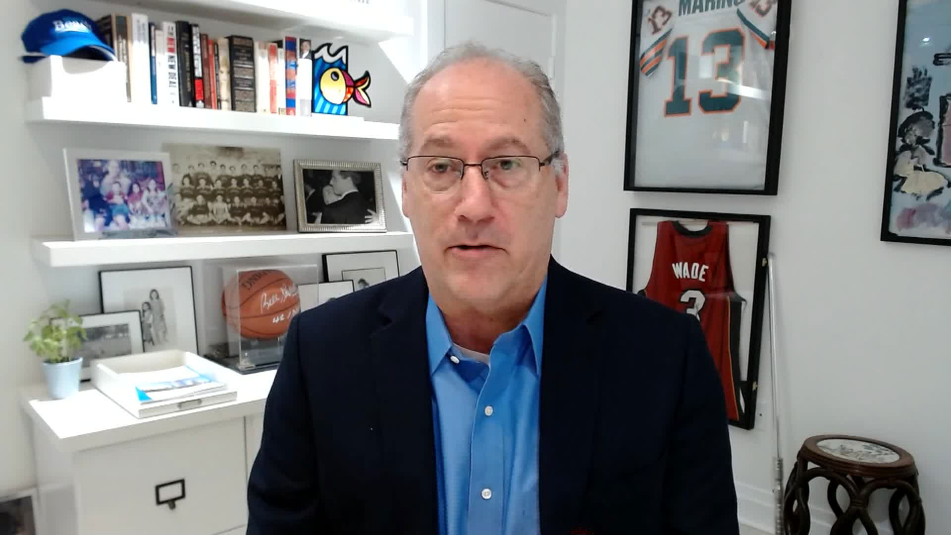 Miami Beach Mayor Dan Gelber speaks with CNN on July 5.
