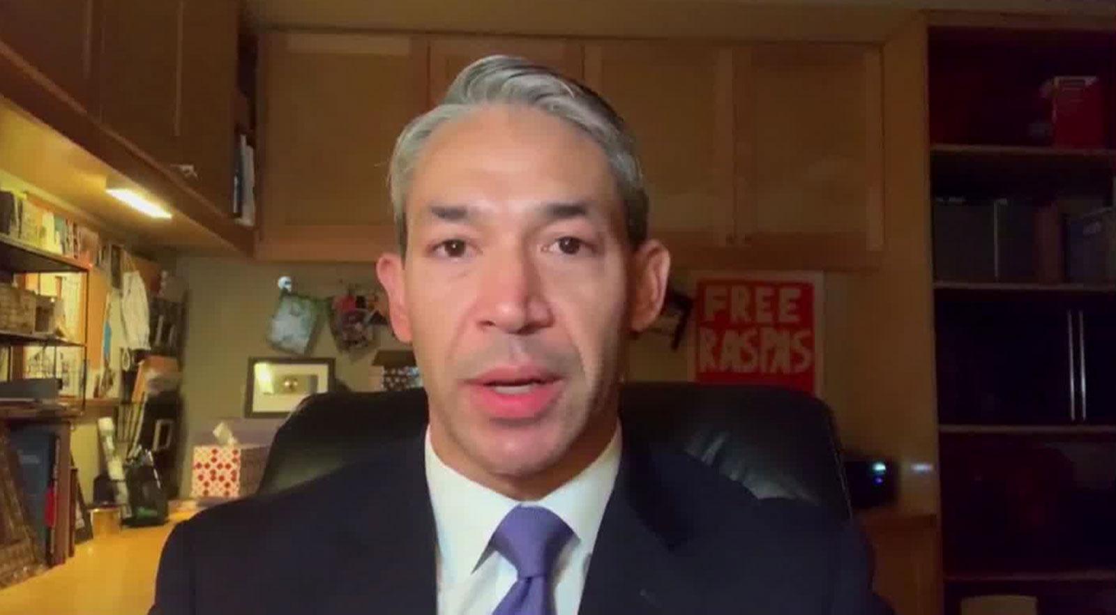 San Antonio Mayor Ron Nirenberg speaks with CNN's John Berman on July 10.