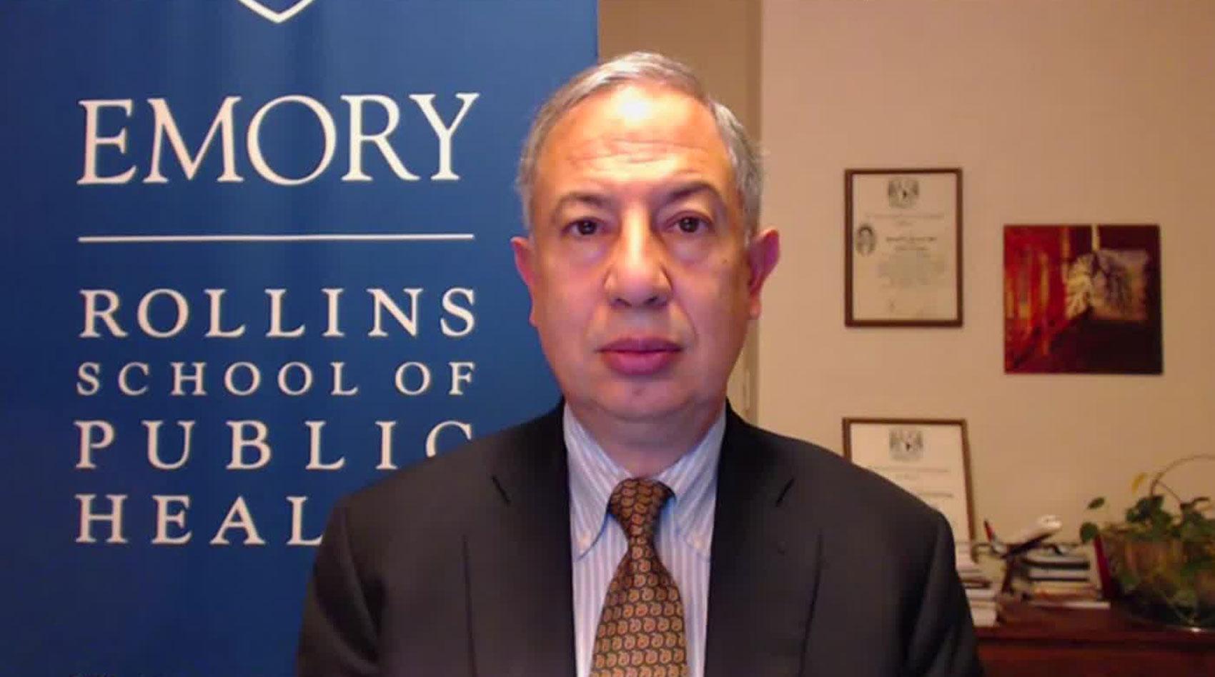 Dr. Carlos del Rio on December 4.