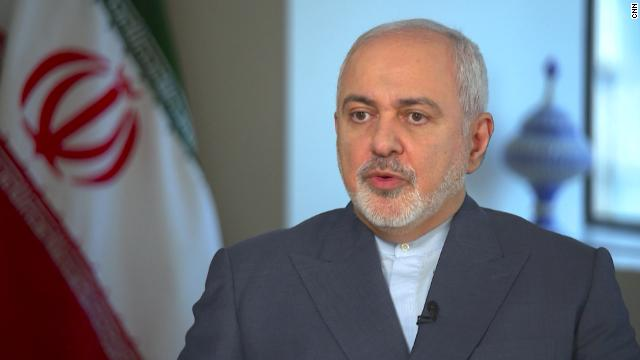 "Javad Zarif called the strike an ""obvious crime."""