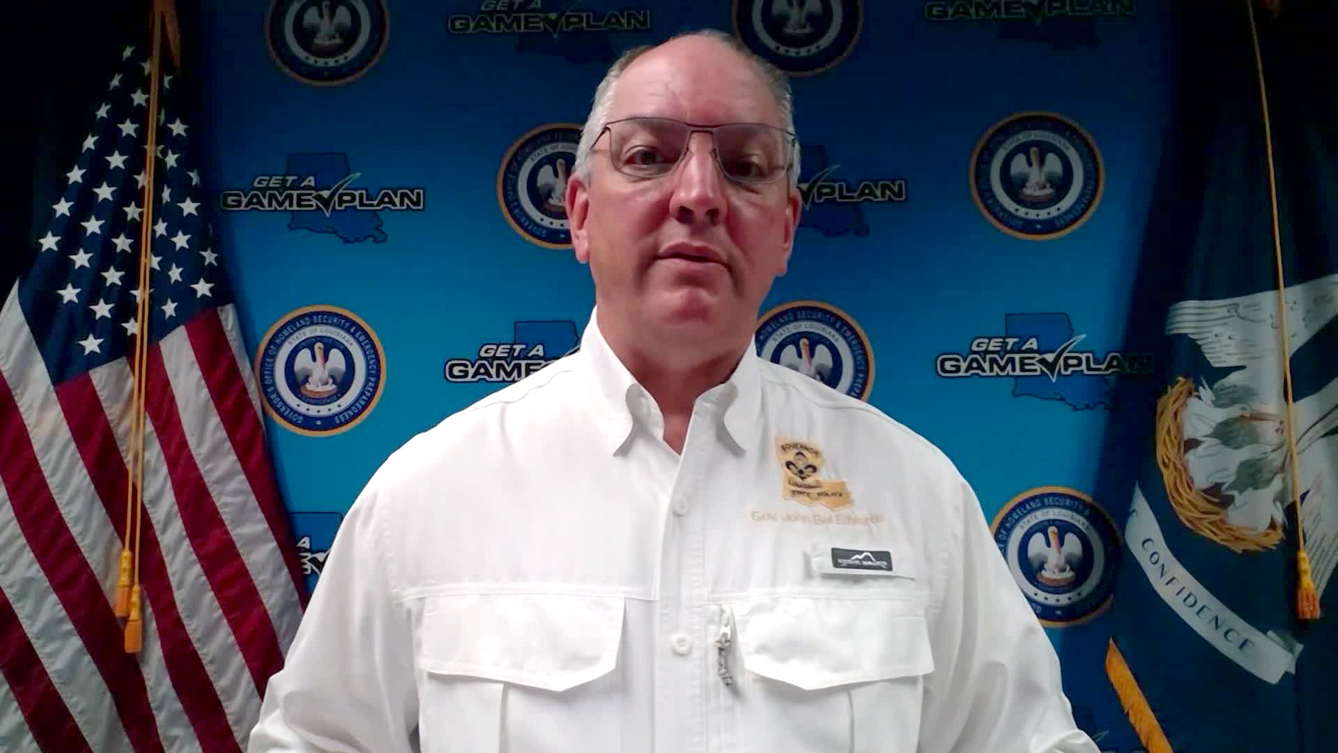 Louisiana Gov. John Bel Edwards speaks with CNN on Thursday, August 27.