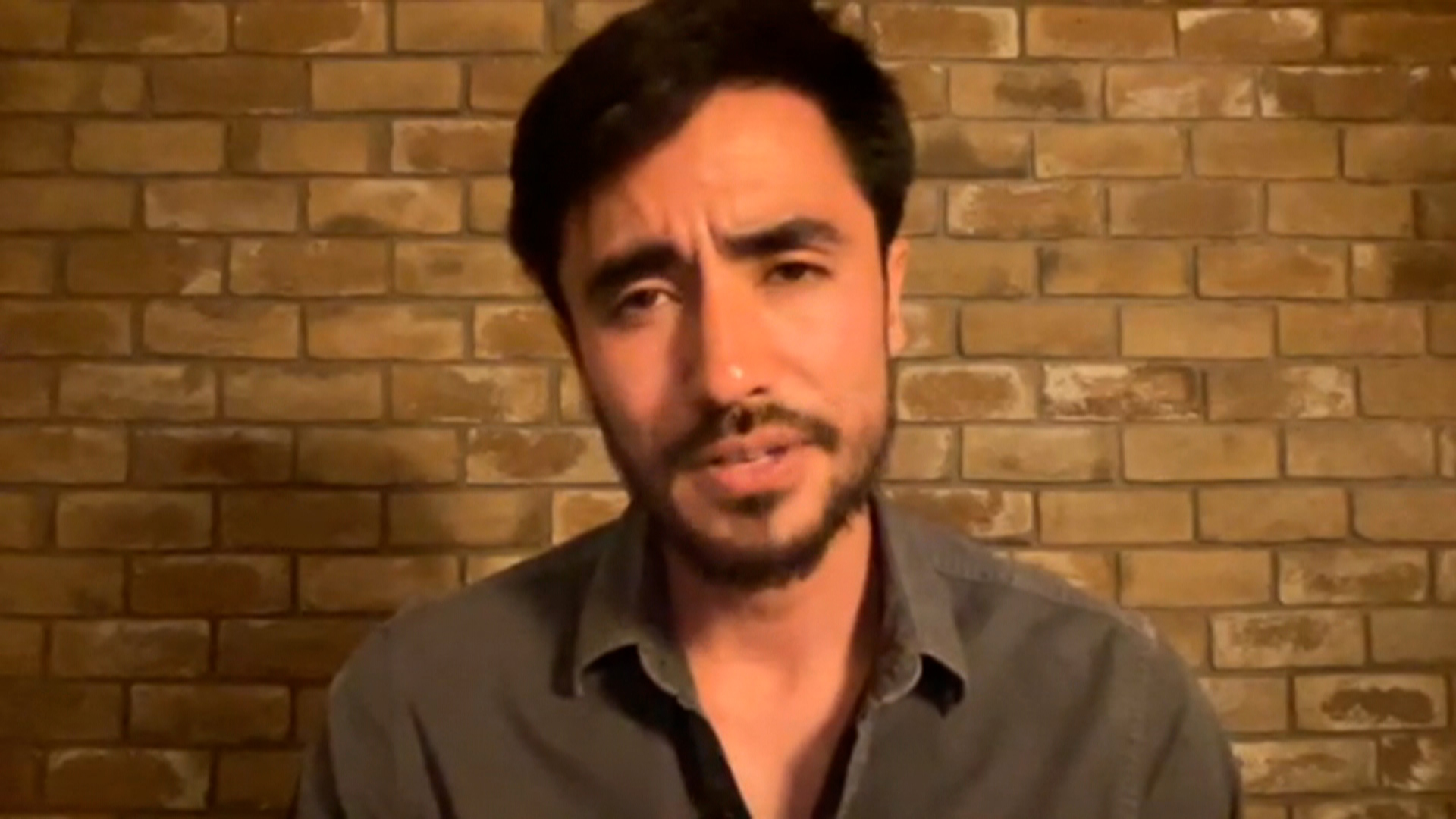 Journalist and author Matthieu Aikins speaks with CNN on Thursday.