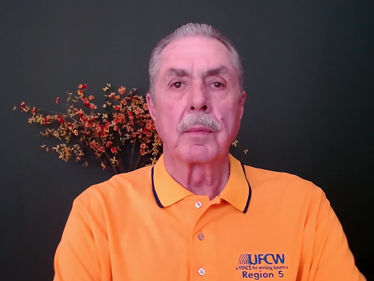 MarcPerrone, President of the United Food and Commercial Workers International Union