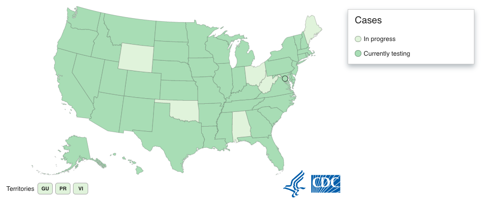 42 6 Us States Are Not Currently Testing For Novel Coronavirus