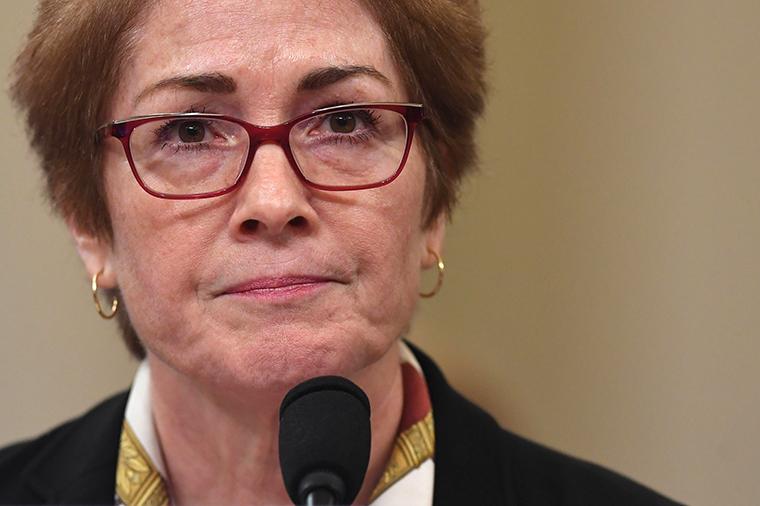 Former US Ambassador to the Ukraine Marie Yovanovitch