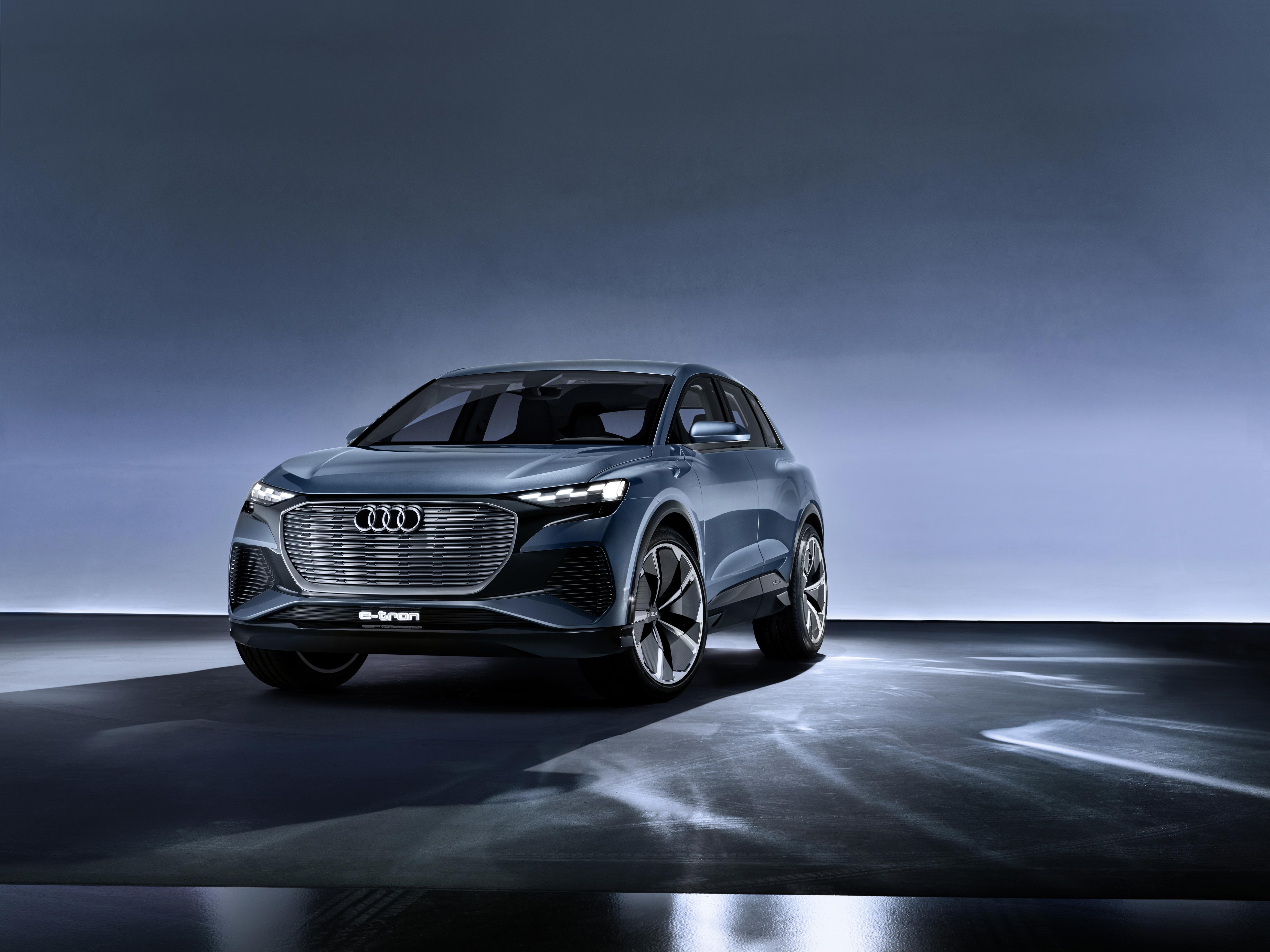 The Audi Q4 e-tron concept. Photo: Audi