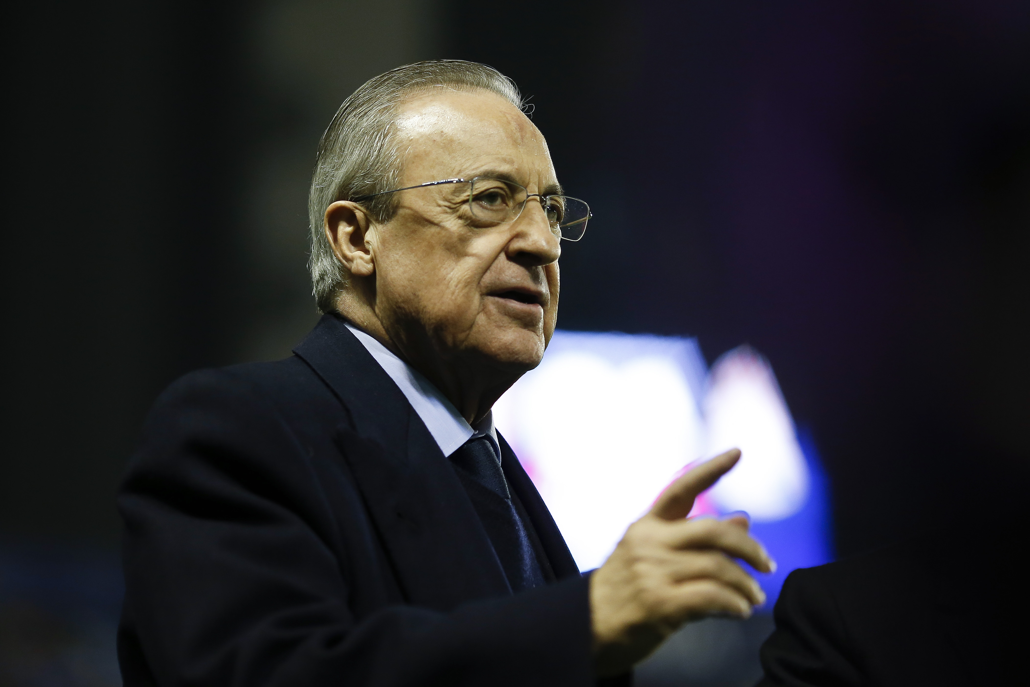 Florentino Perez has been in charge at Real Madrid since 2009.