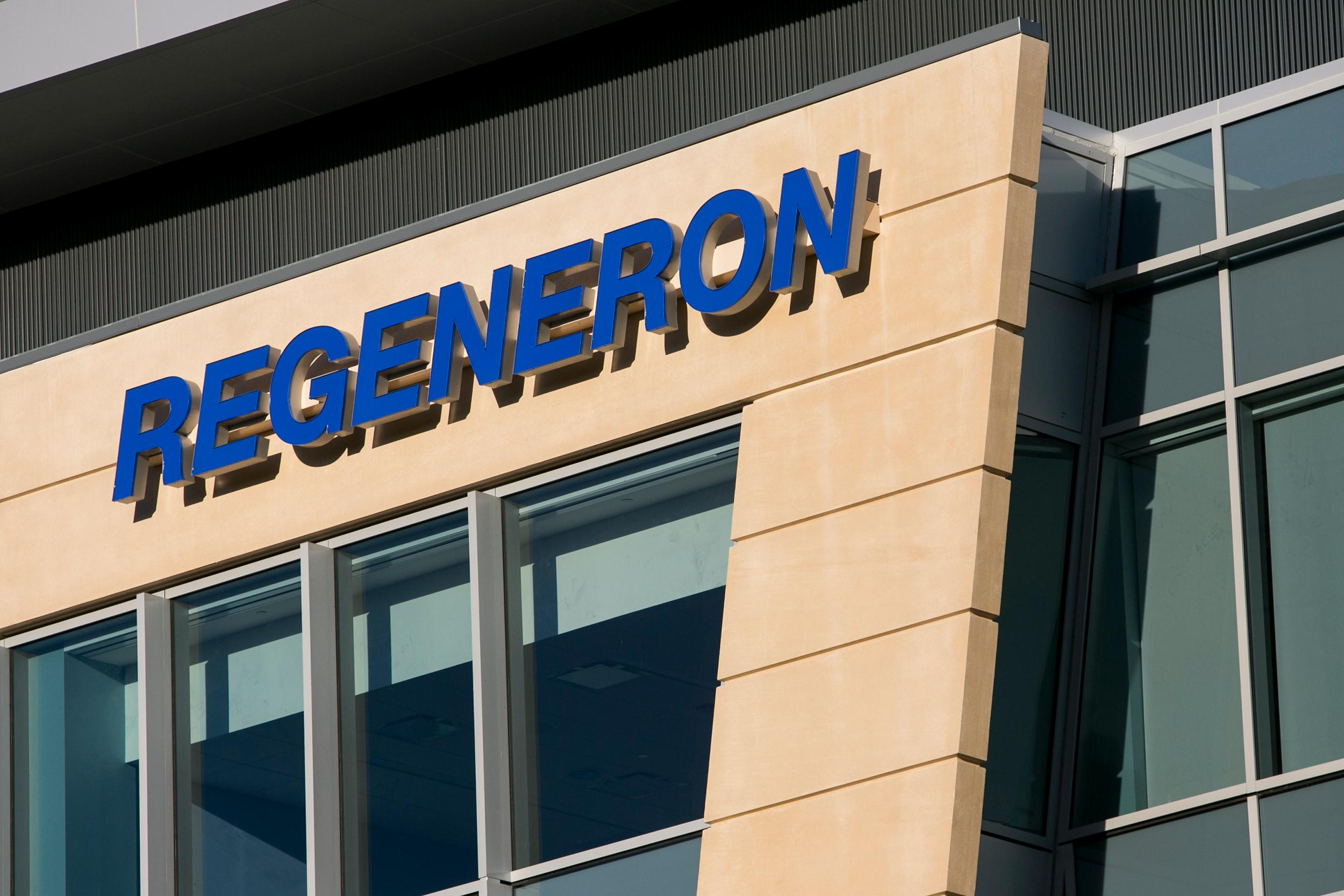 Regeneron Pharmaceuticals, Inc. headquarters in Tarrytown, New York on 2015.