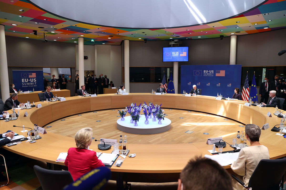 The EU-USA Summit commences in Brussels, Belgium on June 15.