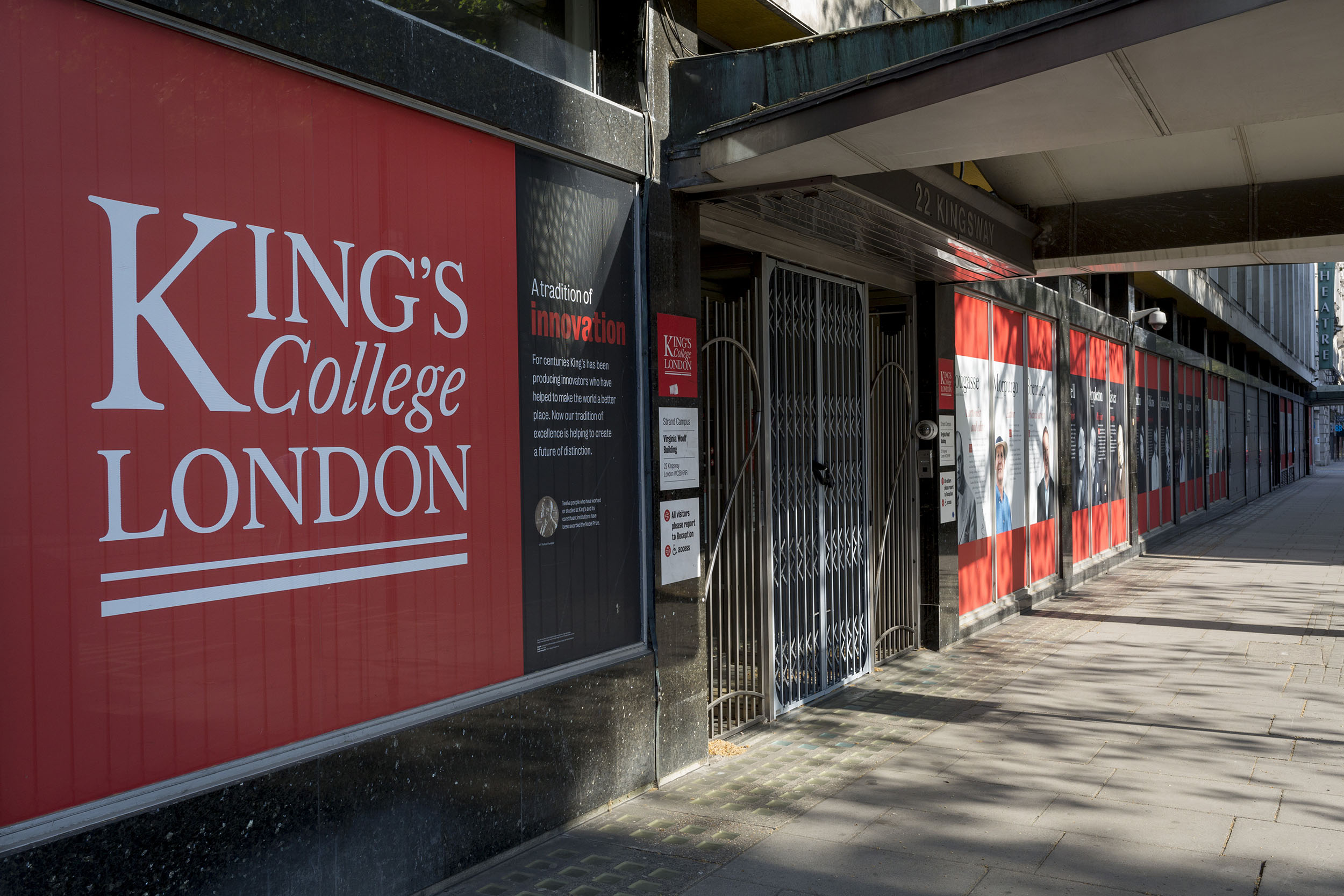 King's College London a public research university located in London, England, on April 23.