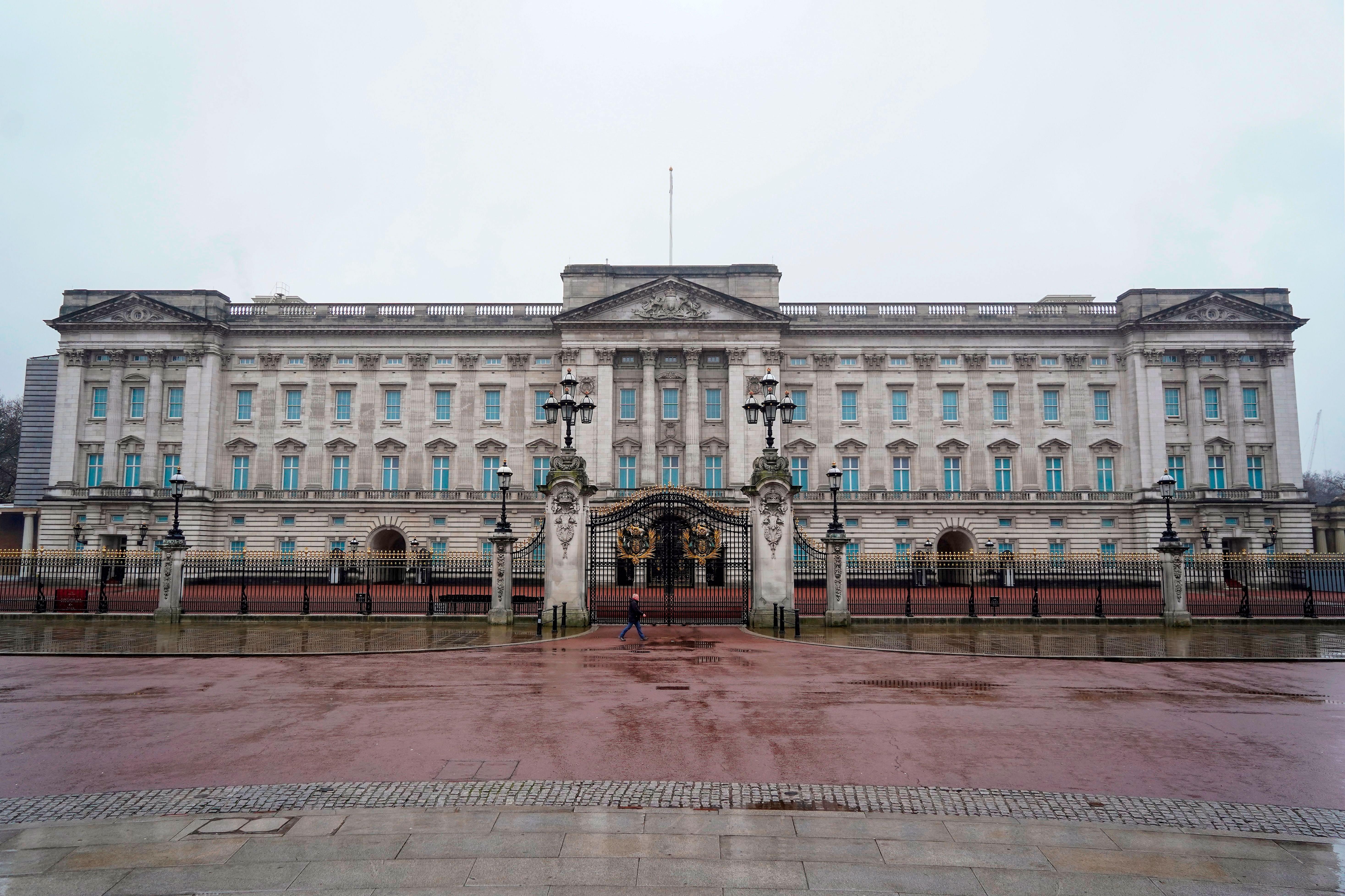 Buckingham Palace in London on January 14.
