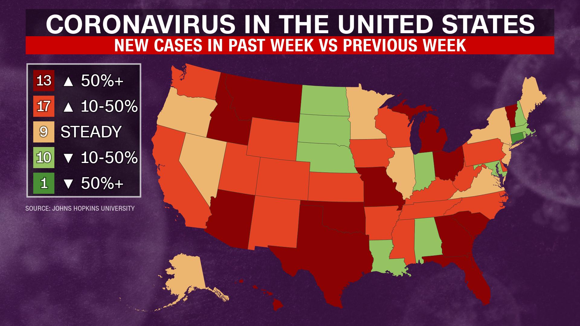 June 25 Coronavirus News