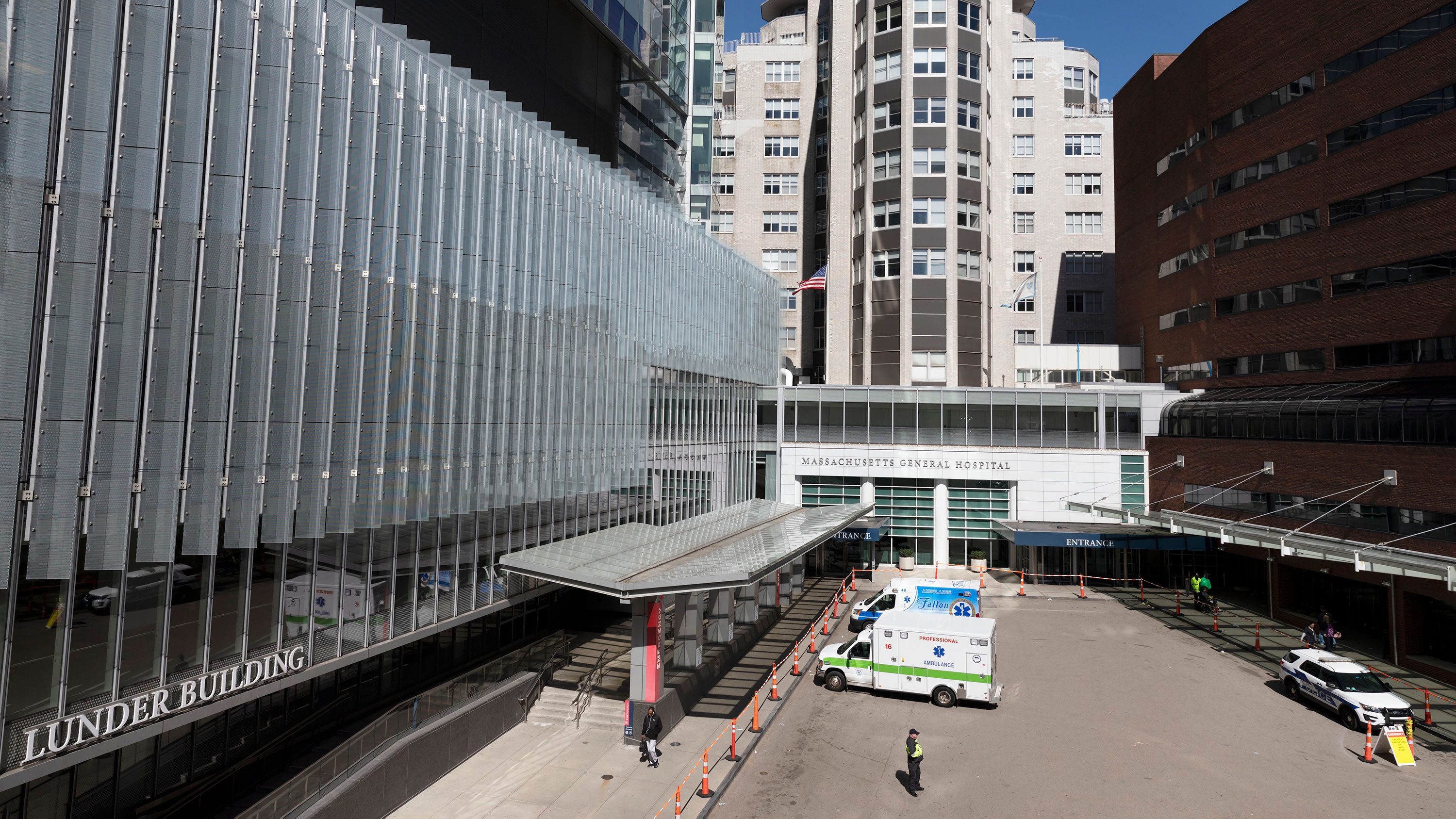 Massachusetts General Hospital is pictured in Boston, on March 14.