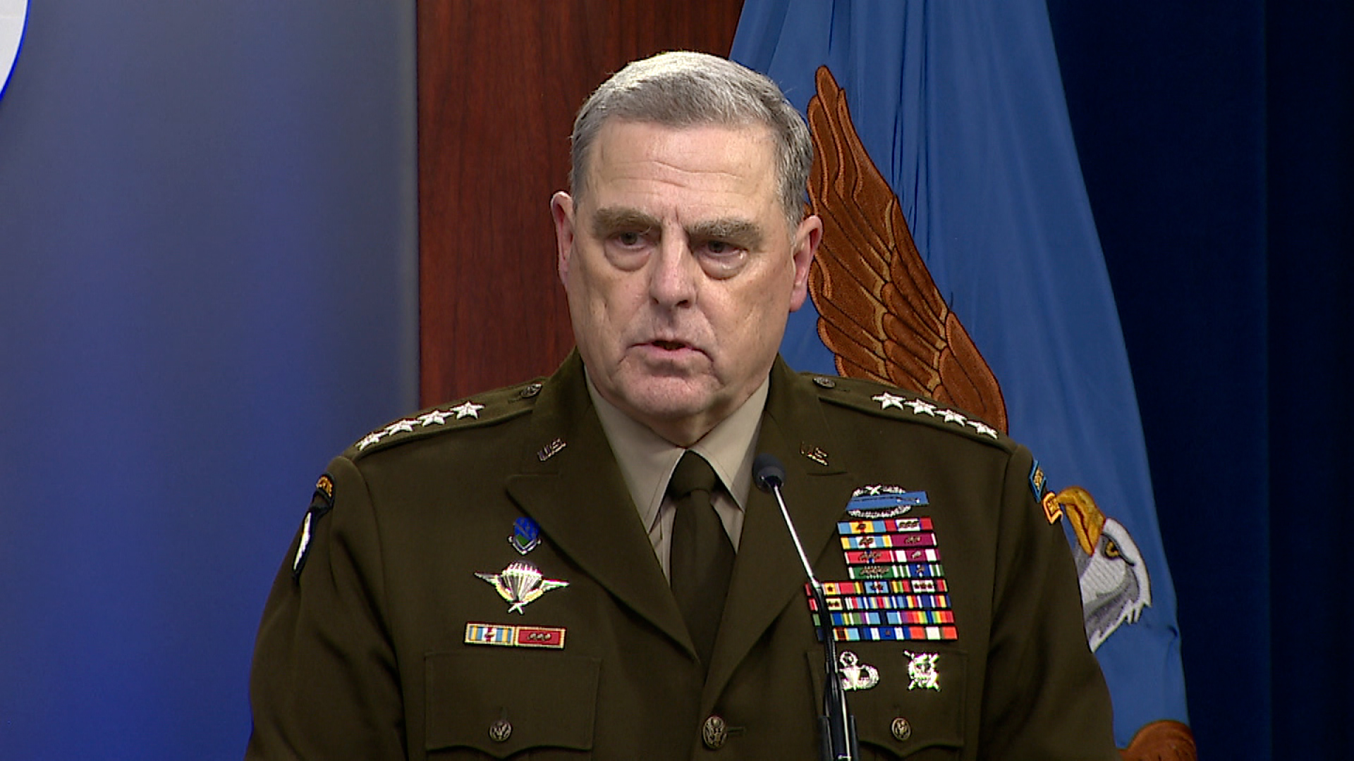 Gen. Mark Milley, chairman of the Joint Chiefs of Staff,