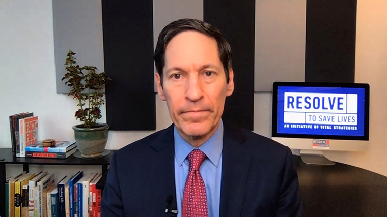 Former CDC director Tom Frieden