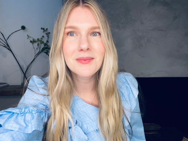 Actress Lily Rabe.