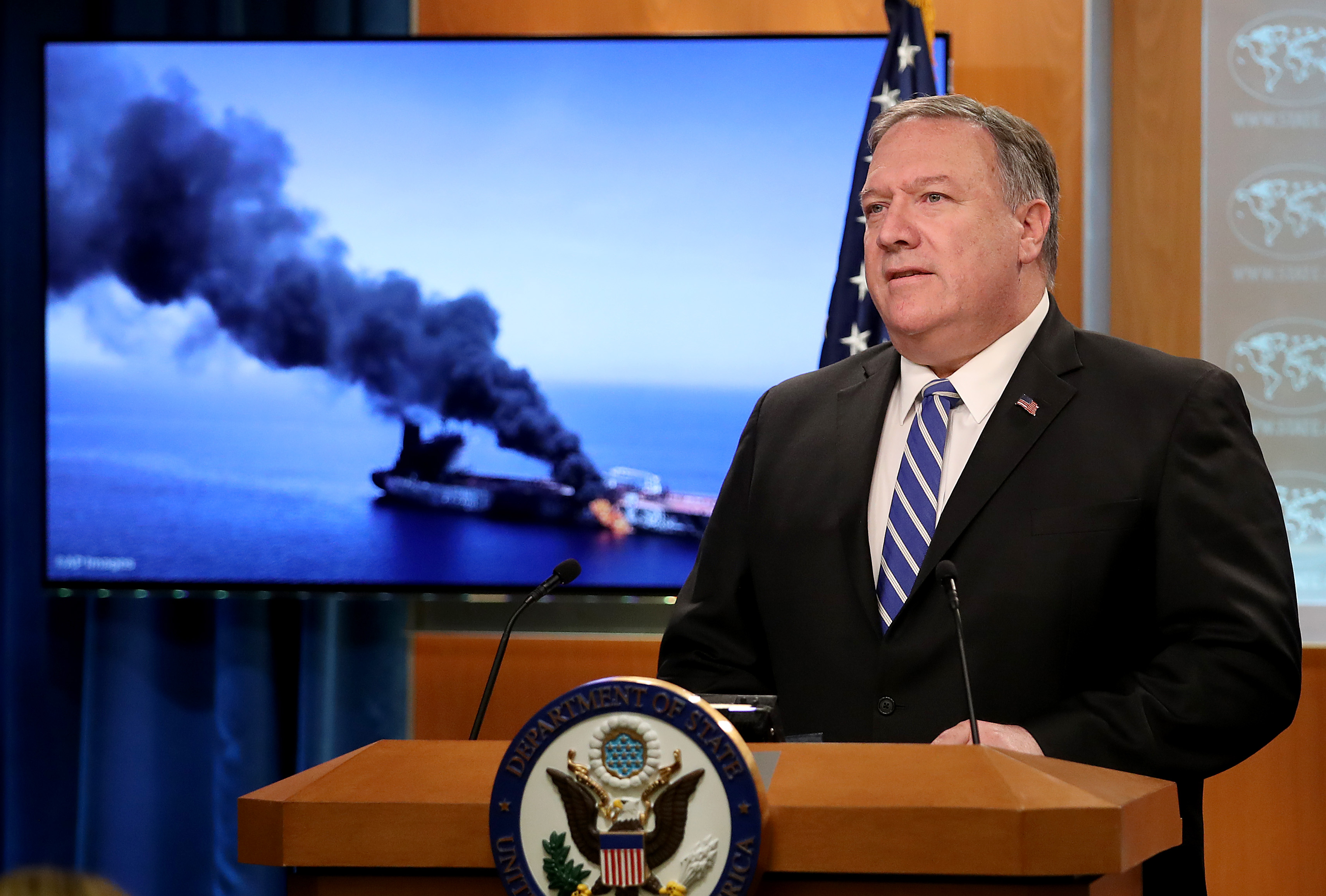 Live updates: US blames Iran for Gulf of Oman attack