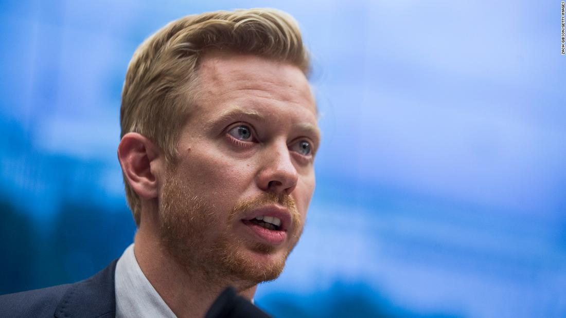 Reddit co-founder and CEO Steve Huffman in 2019 speaking during a hearing with the House Communications and Technology and House Commerce Subcommittees on Capitol Hill in Washington, DC.