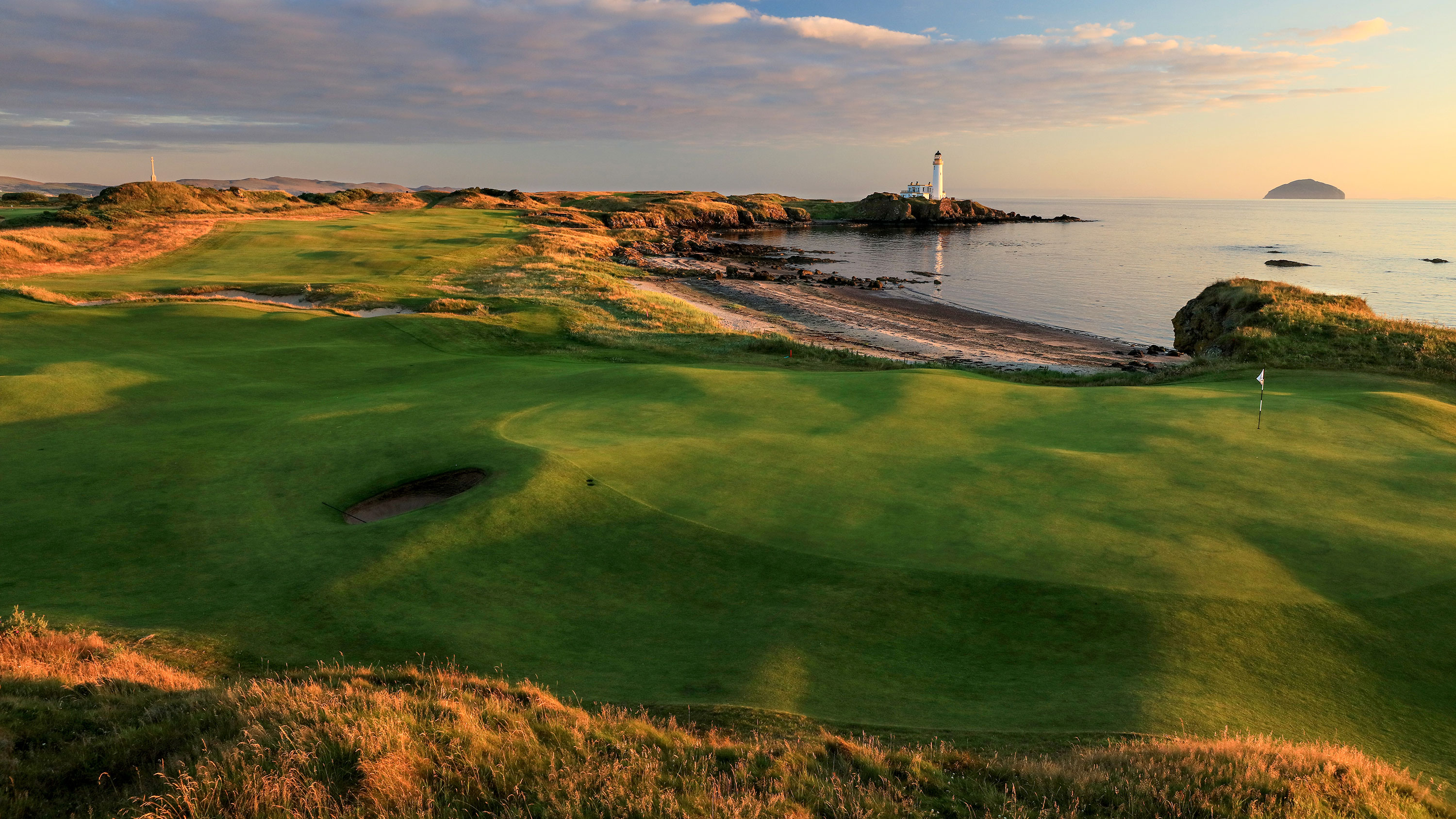 Trump Turnberry golf course in Turnberry, Scotland.