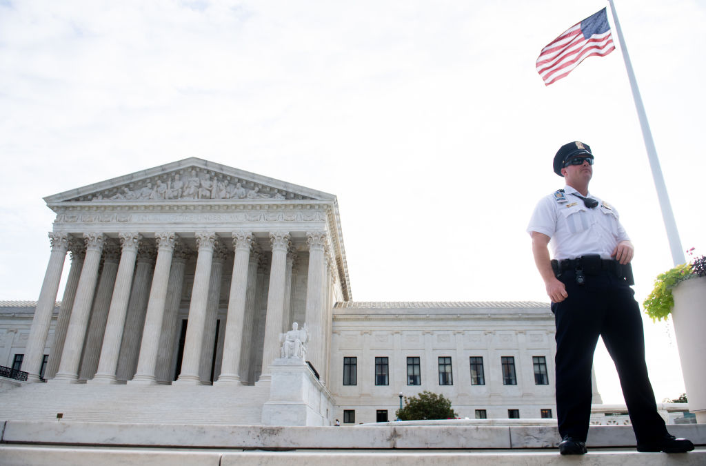President Trump has predicted that any legal battle could go all the way up to the US Supreme Court.