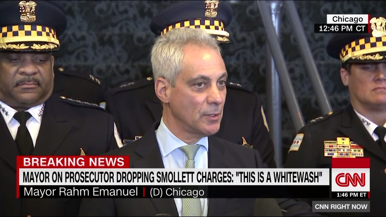 Chicago mayor: 'This is a whitewash of justice'