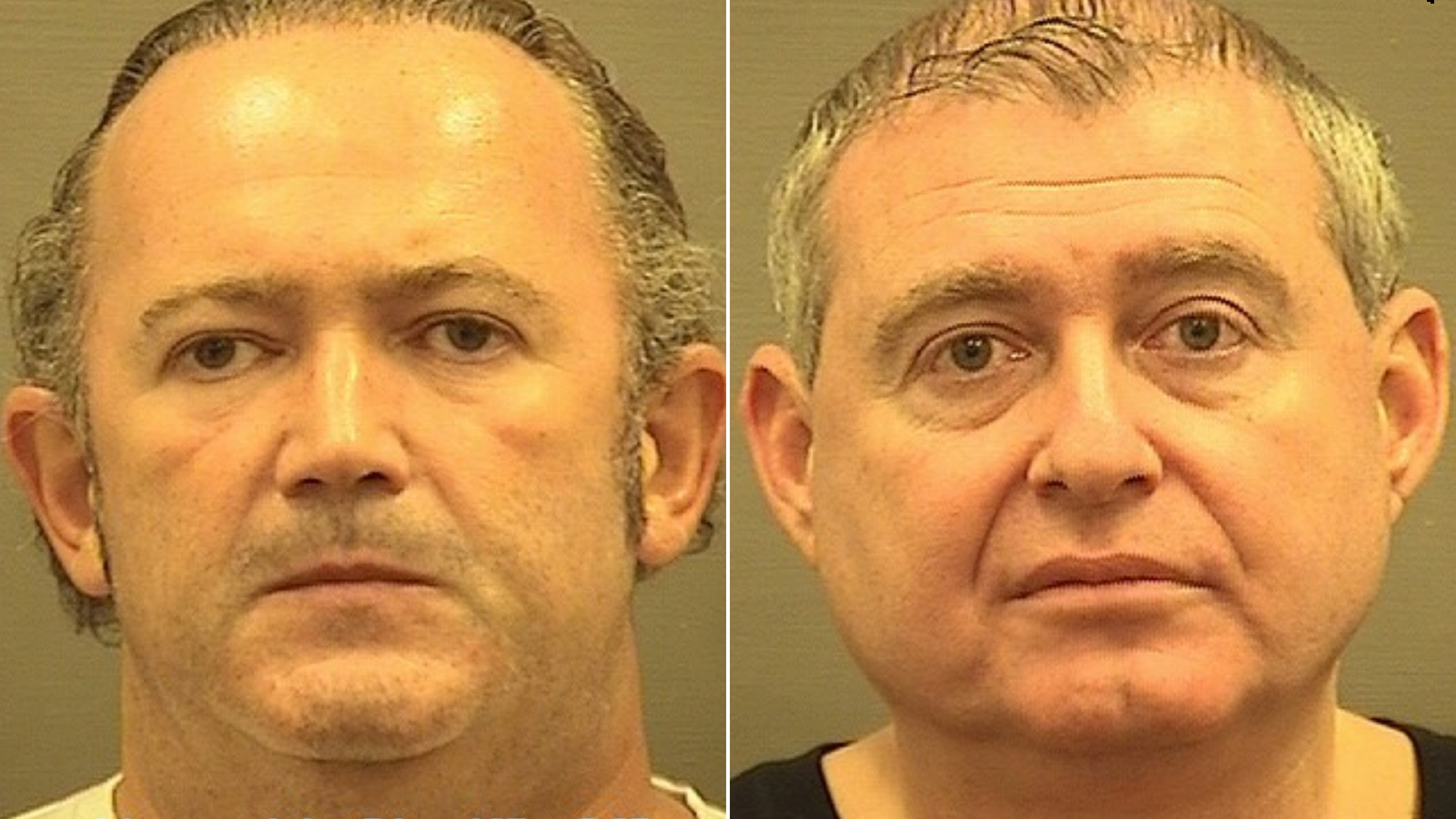 Igor Fruman, left, and Lev Parnas were arrested and charged with campaign finance violations.