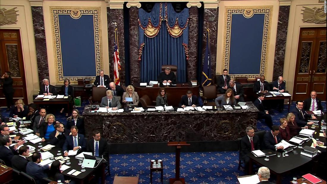Catch-up: Was passiert im Senat Amtsenthebungsverfahren bisher heute