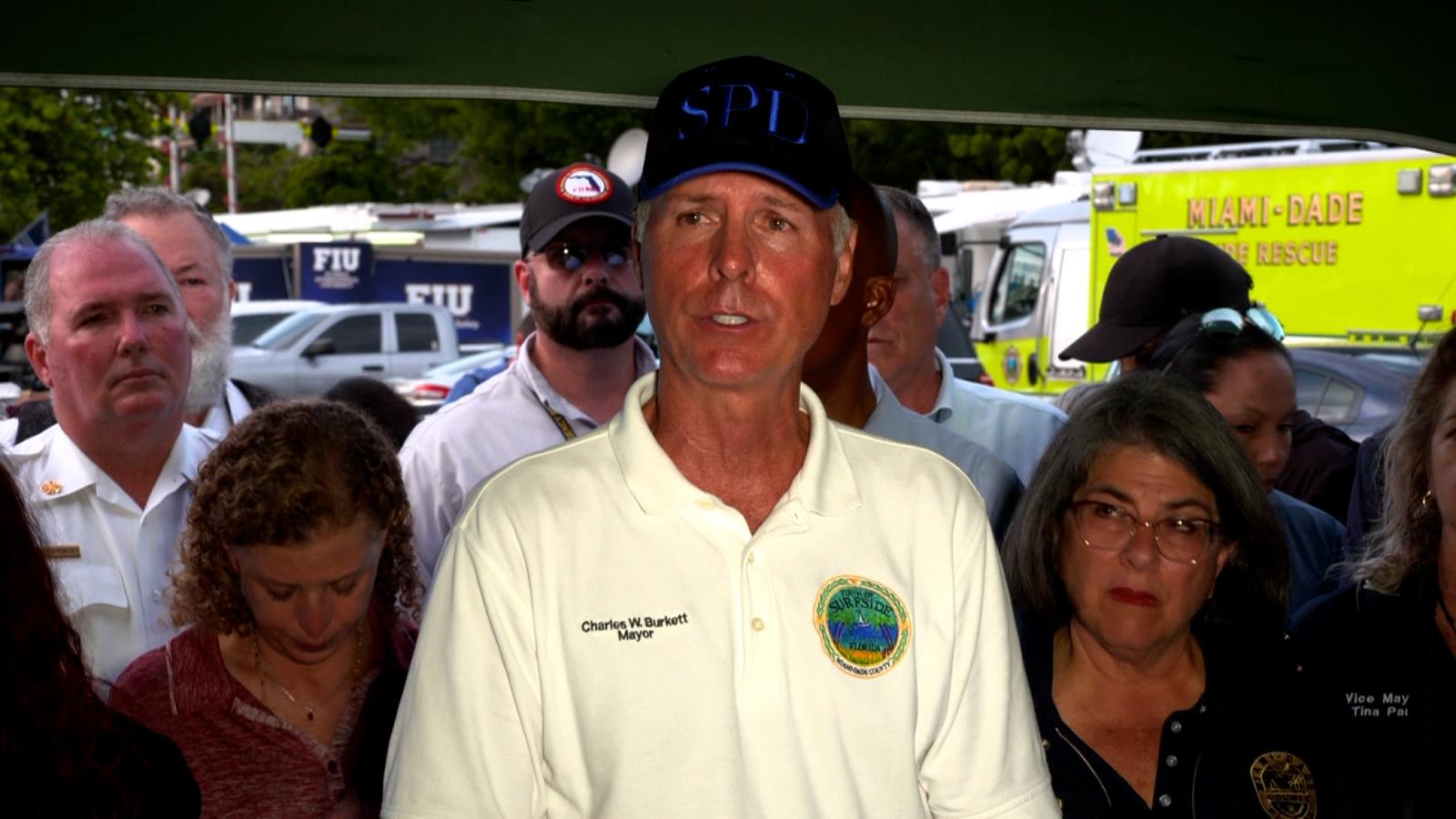 Surfside, Florida, Mayor Charles Burkett