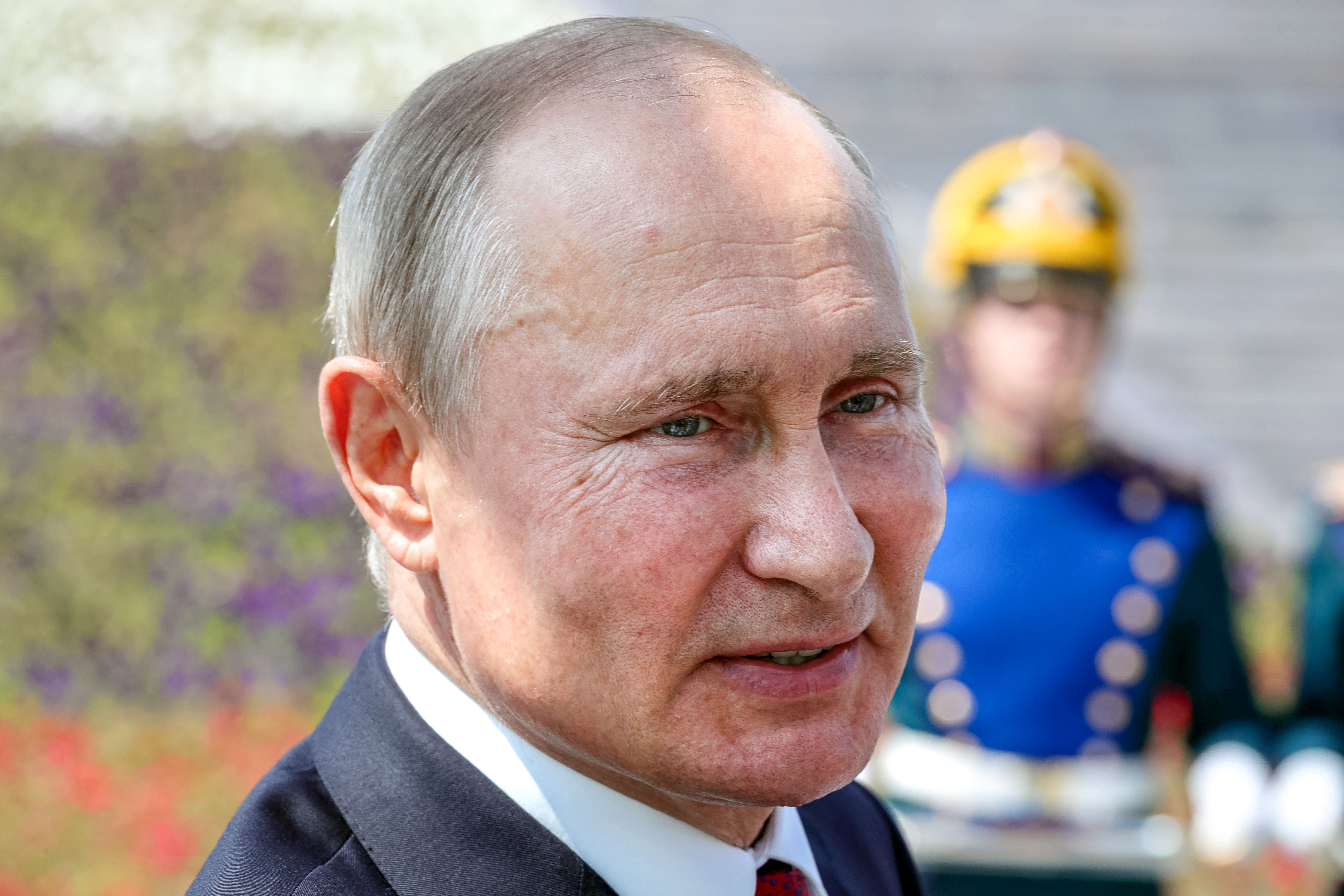 Russian President Vladimir Putin at a ceremony in Moscow on June 12.