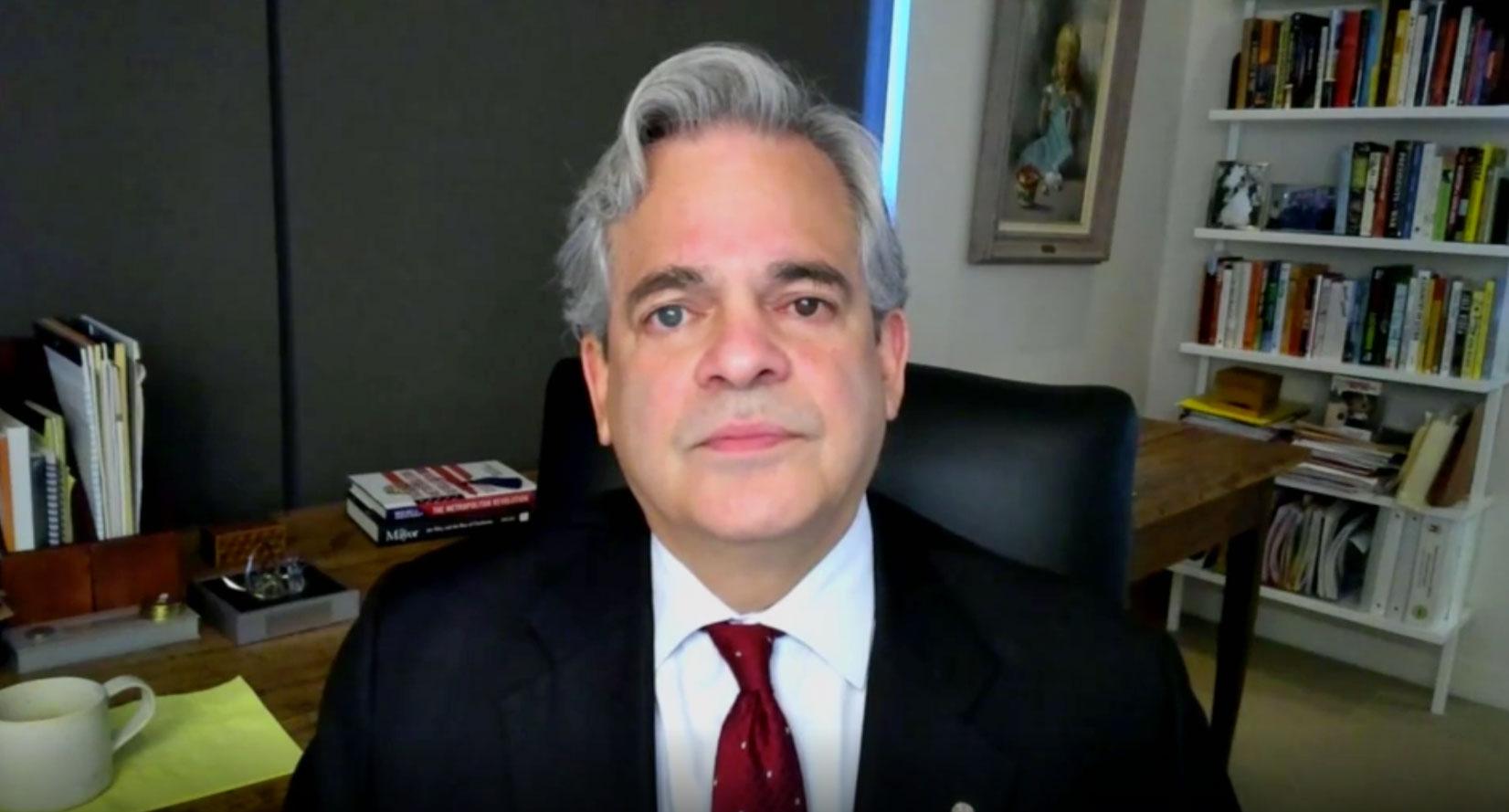 Austin, Texas, Mayor Steve Adler speaks with CNN's Dana Bash on July 5.