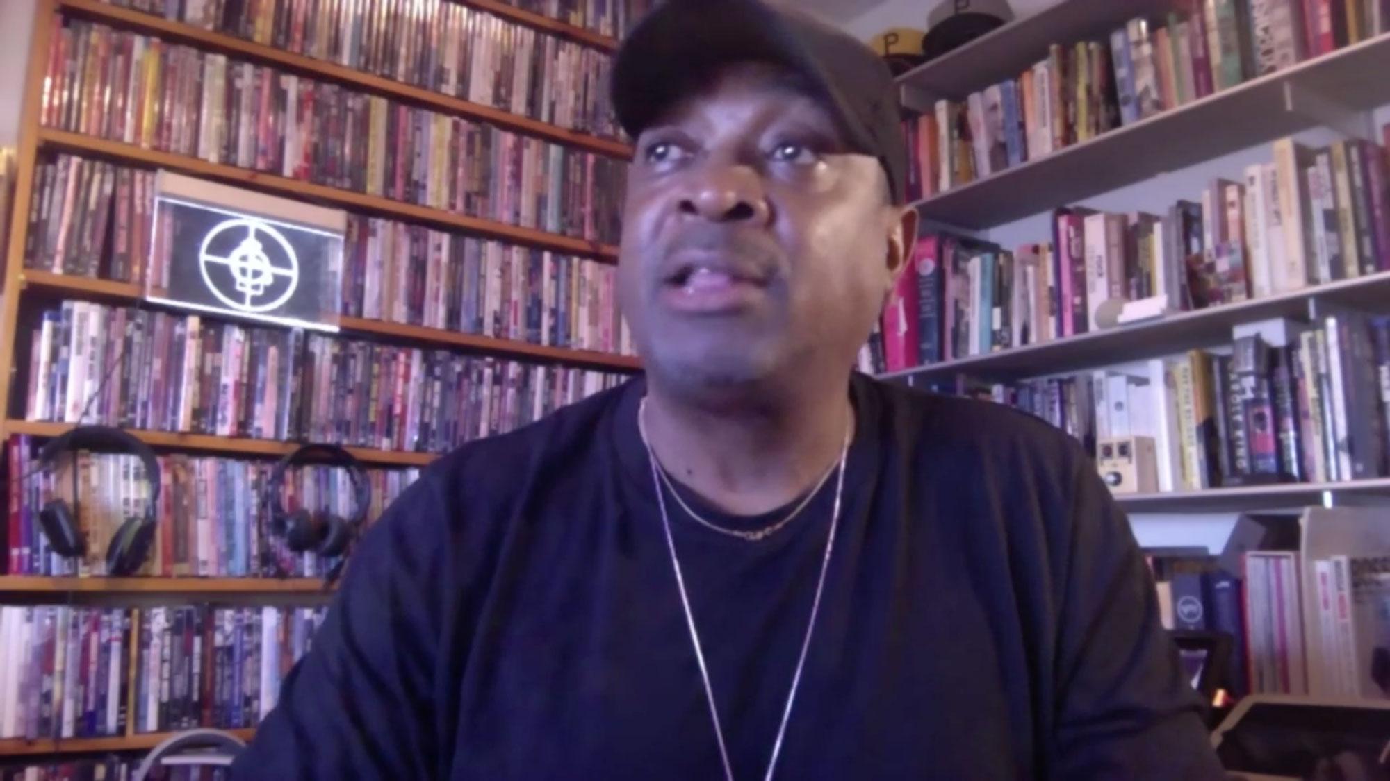 Public Enemy rapper Chuck D speaks to Chris Cuomo on CNN.